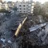 Siyonist İsrail Savaş Uçakları Saeed Al Masshal Kültür Merkezini Bombaladı: Biri Ağır 18 Yaralı