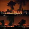 Siyonist İsrail Savaş Uçakları Gazze Şeridini Yoğun Bir Biçimde Bombaladı