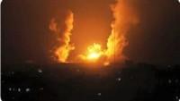 Siyonist İsrail Ordusu Bu Sabah Gazze Şeridi'ni Yeniden Bombalamaya Başladı
