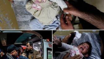Siyonist İsrail Savaş Uçakları'nın Gazze'yi Vahşice Bombalaması Neticesinde 3 Sivil'in Şehid Olmasıyla Toplam 25 Sivil Şehid Oldu