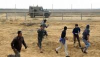 Siyonistlerin dünkü saldırısında 49 Filistinli yaralandı
