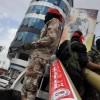 Gazze Direnişçileri Siyonist İsrail'in Sderot Kasabasını 3 Adet 107 Füzesiyle Vurdu