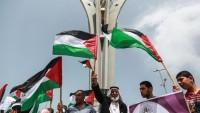 Gazzeliler, ambargonun kaldırılması için gösteri yaptı