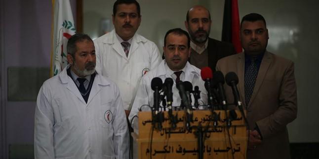 Gazze Şeridi'ndeki 6 Hastanede Sağlık Hizmetleri Durdu
