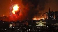Siyonist İsrail Uçaklarının Refah Kentinde Bir Evi Vurması Sonucu 1 Sivil Şehid Oldu, 3 Sivil'de Yaralandı