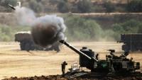 Siyonist İsrail Rejimi Gazze Direnişçilerine Ait Bir Gözetleme Kulesini Vurdu