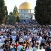 Gazze'ye Uygulanan Yaptırımların Kaldırılması İçin Mescidi Aksa'da Gösteri Düzenlendi