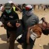 Siyonist İsrail Askerleri Gerçek Mermilerle Filistinlilere Saldırdı