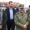 İran Devrim Muhafızları Komutanı General Caferi, Selzede Bölgelerini Ziyaret Etti