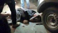 Siyonist İsrail Ambulansının Önünü Kesenler Tutuklandı
