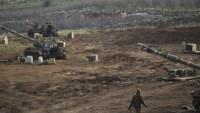 Siyonist İsrail ordusu, Golan tepelerinde askeri tatbikata hazırlanıyor