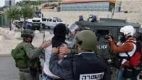 Siyonist İsrail Güçleri Kudüs'te İkisi Çocuk Beş Filistinliyi Gözaltına Aldı