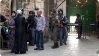 Siyonist İsrail Güçleri Kudüs'te Filistinli Altı Kadını Gözaltına Aldı