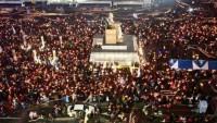 Güney Kore'de devlet başkanına yönelik protestolar sürüyor