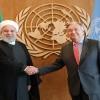 Ruhani, BM Genel Sekreteri Antonio Guterres ile görüştü