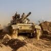 Haşdi Şabi, DEAŞ'ın Suriye'deki mevzilerini hedef aldı