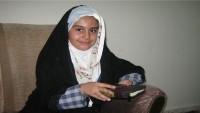 İranlı Kur'an-ı Kerim hafızı kız çocuğu hakemleri hayrette bıraktı