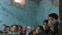 Halep'te bazı okullar 5 yılın ardından açıldı