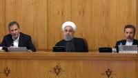 Hasan Ruhani: İran halkı, emperyalist güçlerin komplosuna akıllıca yanıt vermiştir