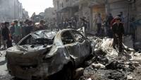 Suriye'de üç bombalı araçla yapılan saldırıda 22 kişi hayatını kaybetti 100'den fazla kişi yaralandı