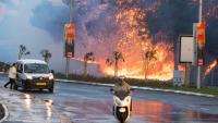 Hayfa'da 60 bin kişi tahliye edildi