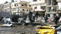 Teröristler Suriye'nin Homs Kentinde de Bombalı Saldırı Düzenledi: 39 Şehid