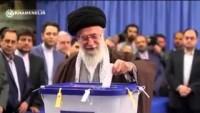 Video: İmam Ali Hamaney, Seçimlerde Oyunu Kullandı