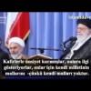 Video: İmam Ali Hamaney, Suudi Rejimini anlatıyor