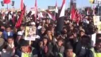 Video: Kahraman Yemen halkı Aşura günü meydanları doldurdu
