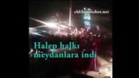 Video: Halep Halkı Meydanlarda Zaferi Kutluyor