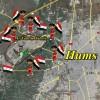 Suriye'nin Hums halkı İdlib'in Fua ve Kefraya beldeleri için ayağa kalktı