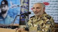 Tuğgeneral Nasır Araste: İran dünya istikbarının tehditlerine güçlü bir şekilde misillemede bulunur