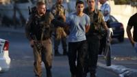 Siyonist İsrail Güçleri Batı Yaka'da 21 Filistinliyi Gözaltına Aldı 