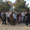 Siyonist İsrail Mahkemesi Yahudilerin Mescid-i Aksa'da Ayin Yapmalarına İzin Verdi
