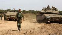 Siyonist İsrail Ordusu Gazze Sınırına Ek Kuvvet Gönderdi