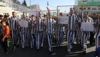 Terör Rejimi İsrail'den Batı Şeria'daki yürüyüşe müdahale: 4 gazeteci yaralı