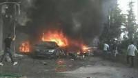 İdlib'teki Patlamada Heyetu Tahriri Şam Teröristleri Liderlerinden Hattab Ebu İbrahim Öldü