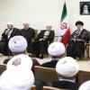 İmam Ali Hamaney, Rehberlik Bilgeler Meclisi Üyelerini Kabul Etti