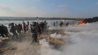 Siyonist İsrail Saldırısında Onlarca Filistinli Yaralandı