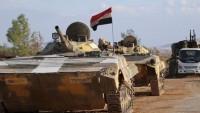 Suriye Ordusu Ürdün Sınırındaki 9 Noktayı Öso'dan Kurtardı