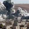 ABD Koalisyonu Deyr ez Zor'un Hacin Kentine Saldırdı
