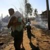 Arakanlı Müslümanların Evleri Yakılıp Yıkılıyor