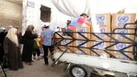 Yermük Kampına İnsani Yardımlar Devam Ediyor