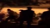 Siyonist İşgalciler Mescidi Aksa'nın Esbat Kapısında Namaz Kılan Müslümanlara Vahşice Saldırdı
