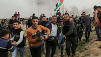Filistin Halkının Amerika'nın Kudüs Kararına Karşı Direnişi Devam Ediyor: Onlarca Yaralı