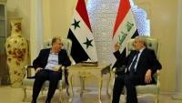 Suriye Ulaştırma Bakanı, Irak Ulaştırma Bakanı İle Görüştü