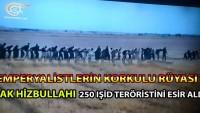 Video: Irak Hizbullahı Ramadi'den Kaçmaya Çalışan 250 IŞİD Teröristini Esir Aldı