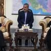 İran'ın Irak Büyükelçisi Mescidi, Nuceba Hareketi Lideri Ekrem Kaabi İle Görüştü