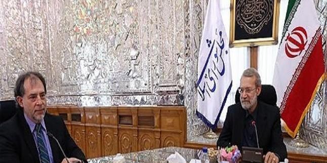 Laricani: ABD'nin ikili davranışları dünya barışını tehlikeye atmaktadır