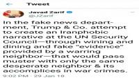 İran dışişleri bakanı Zarif'ten Trump açıklaması